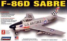 LINDBERG 1:48 KIT DI MONTAGGIO AEREO F-86D SABRE  CON DECALS INCLUSE  70503