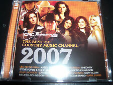 CMC Best of Country Music Channel 2007 CD Ft Steve Forde Keith Urban Beccy Cole