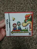 MARIO & LUIGI: BOWSER'S INSIDE STORY (Nintendo DS) NEW SEALED RARE Red case