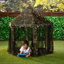 Kids Mimetica Esercito gazebo per uso interno/All' aperto Giardino Camera Da Letto Hide-Out