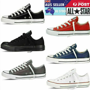 Conver se Unisex Chuck Taylor Classic Colour All Star Low Tops Canvas Trainers
