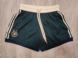 GERMANY 2011 AWAY SHORTS WORLD CUP PLAYER ISSUE ADIDAS SOCCER SIZE L