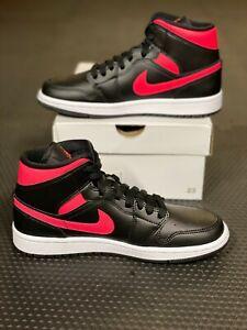 "Nike Air Jordan 1 Mid Womens ""Siren Red"" (In Hand!) BQ6472-004 (Size: 7W-9W)"
