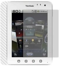 Skinomi Carbon Fiber Silver Skin Cover+Screen Protector for ViewSonic ViewPad 7E