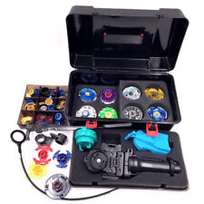Beyblade Set As Children Toys (20 Spare Parts 8 Beyblades 1 Handles 2 Launchers)