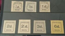 MALTA 1925 Postage Dues to 6d mint/used!