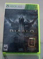Diablo 3 Reaper of Souls, Ultimate Evil Edition (Xbox 360, 2014) Complete