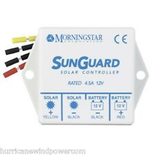 Morningstar SG-4 SunGuard- 4.5 amp 12 volt Solar Charge Controller