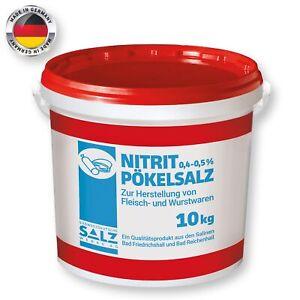 Nitrit Pökelsalz 10kg Eimer Hergestellt in Deutschland Südsalze