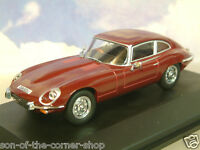 Oxford 1/43 1971-1975 Jaguar V12 E-Type Serie 3 Coupe Regencia Rojo