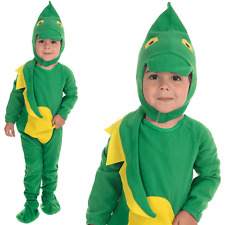 Child Dinosaur Costume T Rex Boys Girls Kids Book Week Day Fancy Dress Outfit