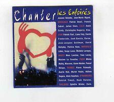 CD SINGLE (NEUF) LES ENFOIRES CHANTER GOLDMAN BRUEL CABREL KAAS ZAZIE LAVOINE