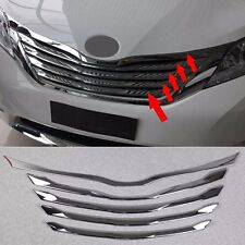 Chrome Front Hood Center Grille Cover Trim Garnish fit 2011-17 Toyota Sienna MPV