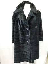 giacca cappotto donna pelliccia astrakan persiano veste fino alla taglia 48