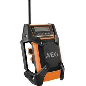 AEG 18V 12V AM FM Compact Jobsite Radio BR1218B-0 - Brand New!