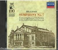 Bruckner : Symphonie N.7 / Eduard Van Beinum, Concertgebouw Orchestra - CD