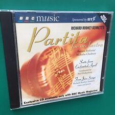 Rare ENCHANTED APRIL Film Soundtrack CD Richard Rodney Bennett +Partita Jazz BBC