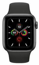 Apple Watch Series 5 40 mm Space Grey Aluminium Case with Black Sport Band - S/M & M/L (GPS) (MWV82X/A / MWV82LL/A)