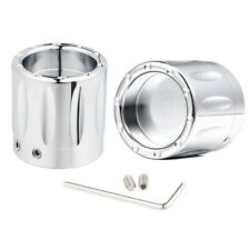 Chrome Thin Cut Front Axle Cap Nut Cover Fit for Harley Touring Electra Glide