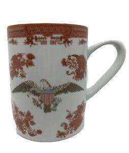 MINT Mottahedeh Cinnabar Bicentennial Fitzhugh American Eagle Tankard Mug