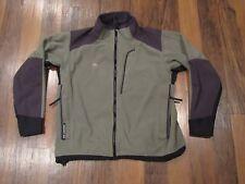 Mountain Hardwear Men's Gore Windstopper Black & Gray Fleece Jacket size L EUC