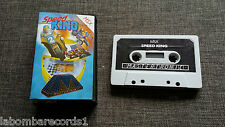 Video game msx-mastertronic speed king