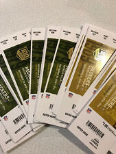 2018 Green Bay Packers vs Chicago Bears  -Lambeau Field Game Ticket Stub