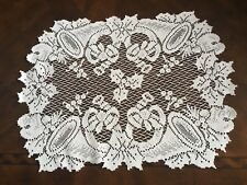 Lace Placemat White Horns Floral WTDH122-A