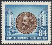 East Germany 1953 (DDR) Karl Marx 84 Pfg MINT Lightly Hinged Stamp XF MLH
