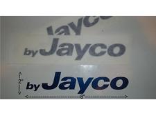 JAYCO LOGO RV CAMPER TOYHAULER POPUP TRAVEL TRAILER DECALS EMBLEM BLUE GREYHAWK
