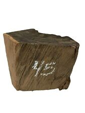 "Gaboon Ebony Turning Wood/ Bowl Blank Lathe/ Wood Block  6"" x 6"" x 3"",  #45"