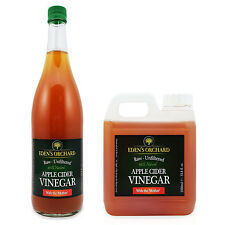 Apple Cider Vinegar with Mother - Raw, Unfiltered & Unpasteurised - Size Options