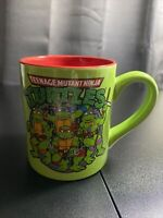 TMNT Teenage Mutant Ninja Turtles Green Coffee Mug Glitter Decorative Hand Wash