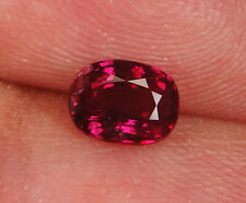 GIA Certified Unheated Natural Ruby Pigeon's blood Red Oval 1.03 ct