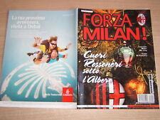 RIVISTA=FORZA MILAN !=N°12 2012=POSTER EL SHAARAWY=BOJAN=DE JONG=WEAH=BRERA
