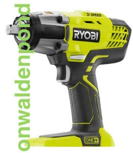 "RYOBI P261 3-SPEED 18-VOLT 18V ONE+ CORDLESS 1/2"" IMPACT WRENCH TOOL NEW"