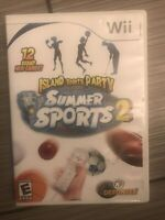 Summer Sports 2: Island Sports Party (Nintendo Wii, 2008) Complete