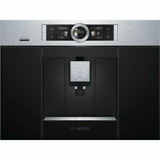 Bosch CTL636ES6 19-Bar Edelstahl Einbau-Kaffeevollautomat - Schwarz