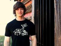 YAARAB SHRINE CIRCUS Black Cotton Blend Size L T-Shirt