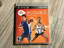 🔥EA Sports Active 2 (Sony PlayStation 3, 2010) PS3 Video Game🔥ESRB🔥B2-70🔥🔥