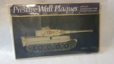 LAST ONE! PRESTIGE Wall Plaques - TIGER 1 TANK Gold outlines German 131 panzer