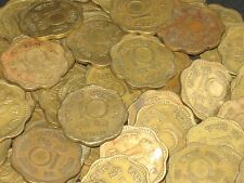10 Coins LOT - 1969 -  Nickel Brass 10 Paise - india