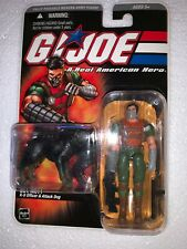GI JOE DTC Sgt. Mutt K-9 Officer & Attack Dog Junkyard 2005 MOC Hasbro 3 3/4""