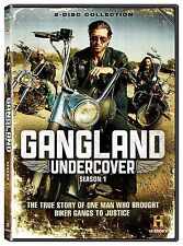 GANGLAND UNDERCOVER : SEASON 1 -  DVD - UK Compatible  - Sealed