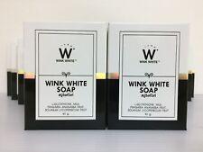 Blanqueamiento de la piel, jabón, Wink White Glutatión, *** nuevo *** Rejuvenecedor, (12 X 80g)