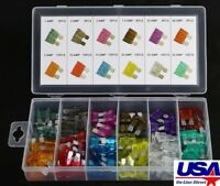 120pc 5-30 AMP Blade Fuse Assortment Auto Car Truck Motorcycle Kit ATC ATO ATM