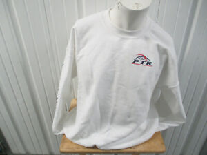 VINTAGE PTR PROFESSIONAL TENNIS REGISTRY LOGO USTA XL WHITE SWEATSHIRT PREOWNED