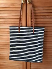Crew Clothing Stripe Casual Bag.