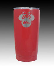 YETI custom Rambler 20 oz Mickey  Minnie personalized tumbler engraved red