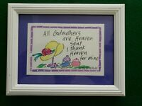 SALLY HUSS Framed Print Godmothers 1990